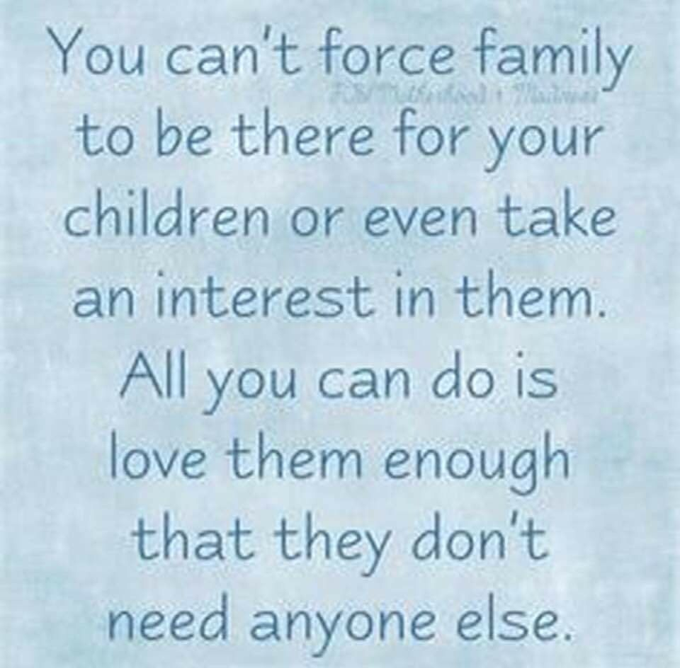 It Never Bothered Me Much Back Then There Was No Need For Them And I Did Not Want Them To Even Fath Don T Care Quotes Family Quotes Truths Grandparents Quotes