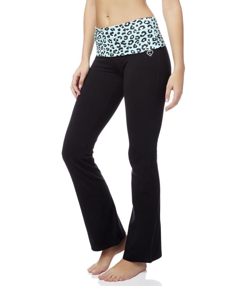 Bootcut yoga pants hm
