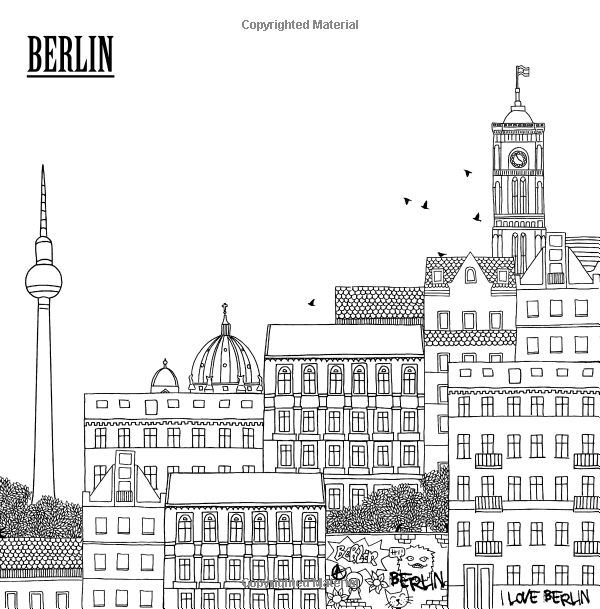 Amazon Com Color The City Coloring Book Of City Skylines Around The World Color Cityscapes From London Paris Prague And Mo City Skyline Cityscape Skyline