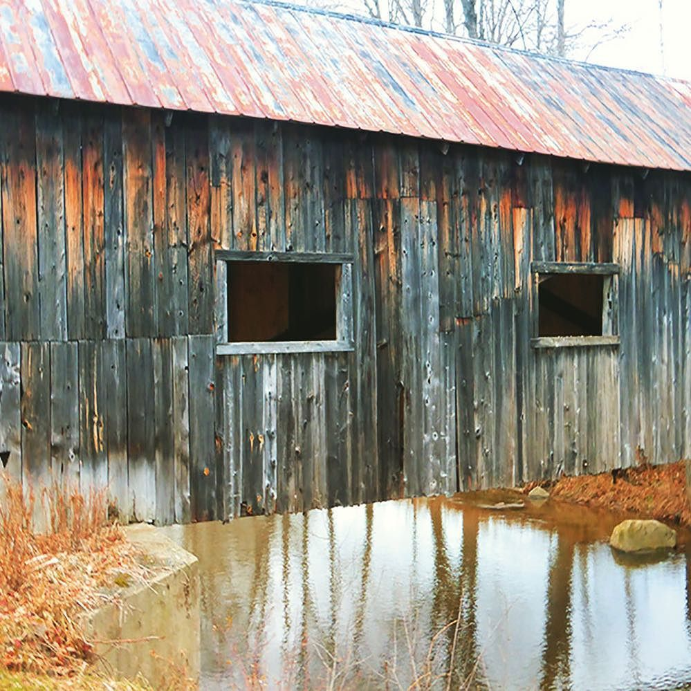 Visit 5 Vermont Covered Bridges on this Driving Tour |New England Covered Bridges Tour