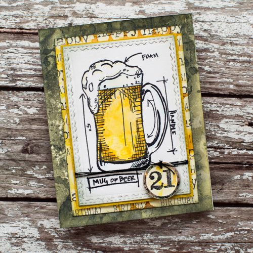tim holtz beer blueprints Tim holtz, Cards and Masculine cards - fresh blueprint 2 cover