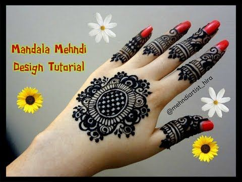 Henna Tattoo Tutorial : Simple henna tattoo zum nachmachen makedes