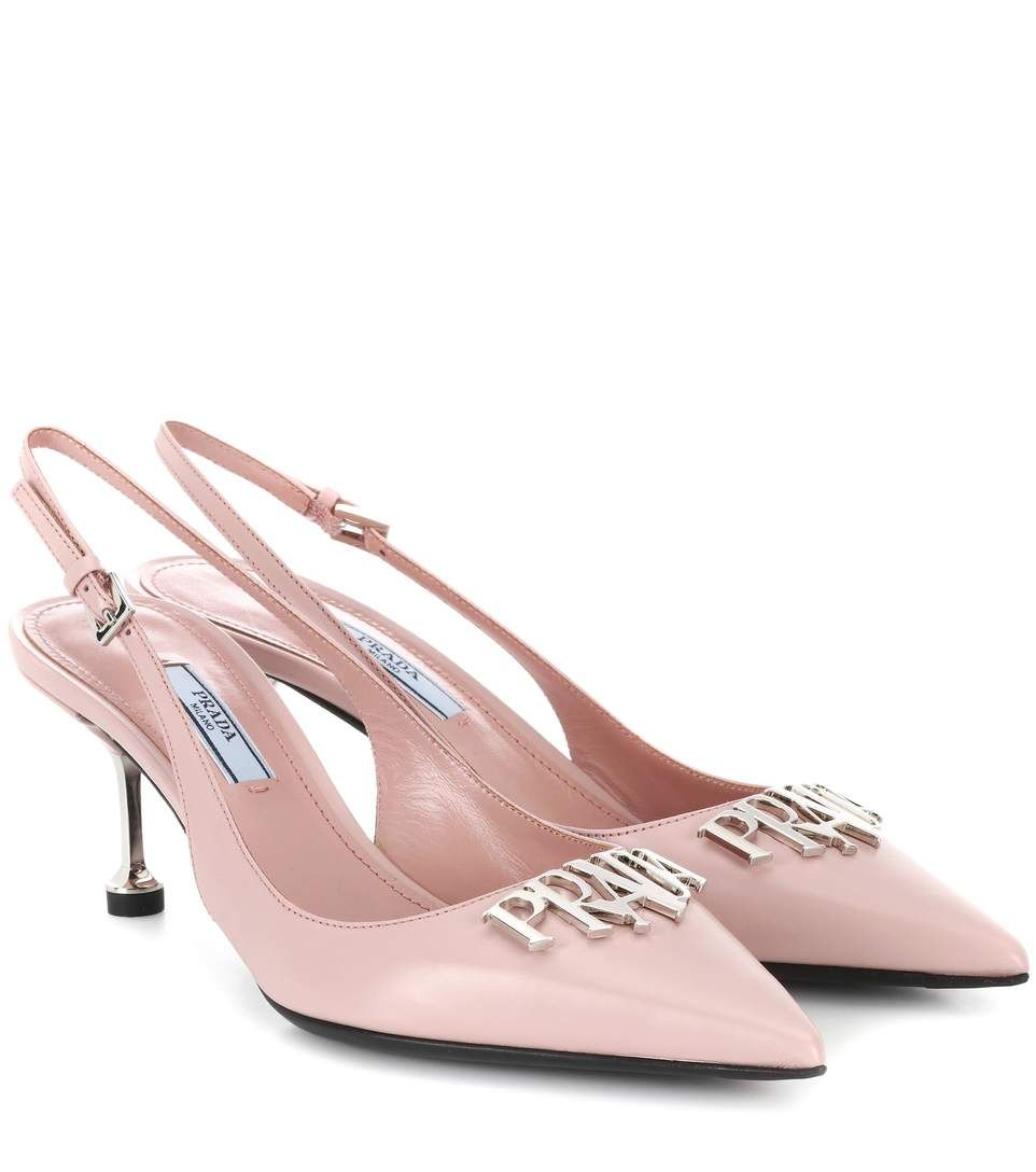 free shipping pick a best Prada Embellished leather slingback pumps amazon cheap price outlet best prices order cheap price zjh2ruHV