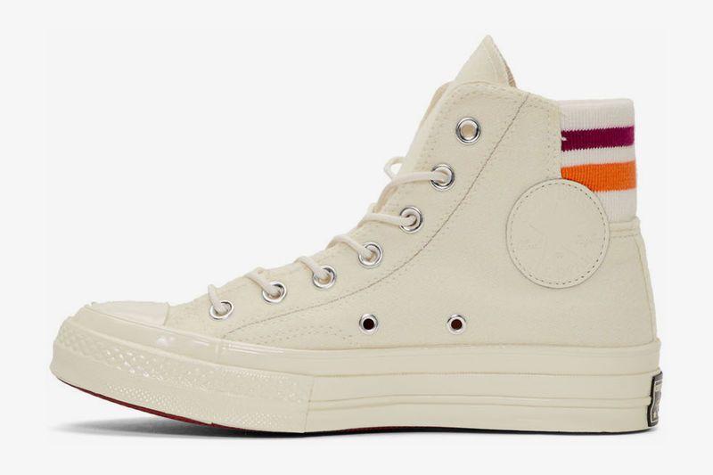 white converse thick sole