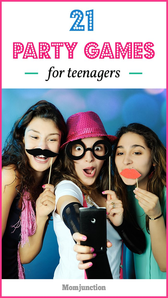 21 Fun Party Games For Teenagers  Birthday Party Games -7083