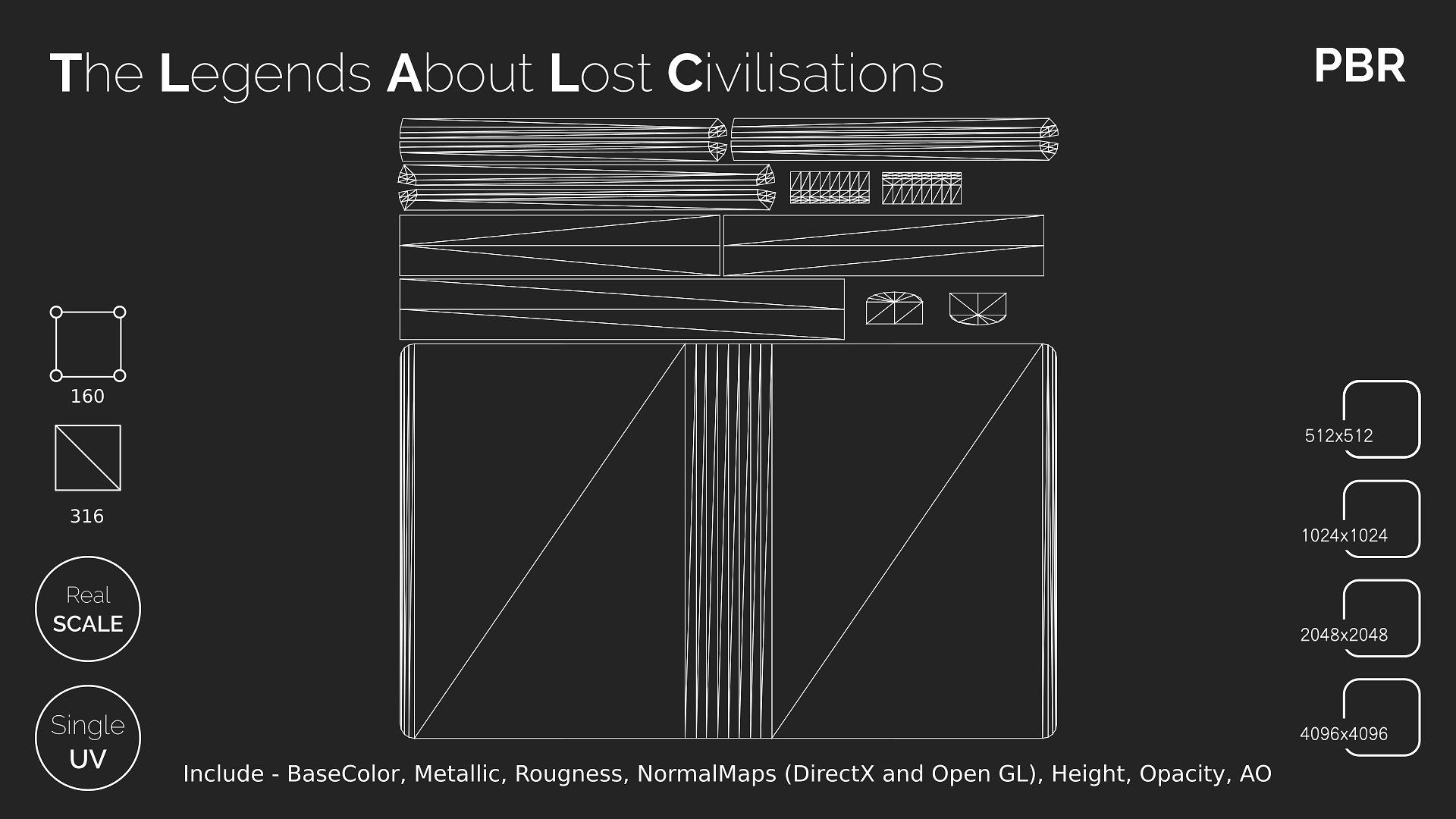 The Legends About Lost Civilisations Writed Cristal Storys