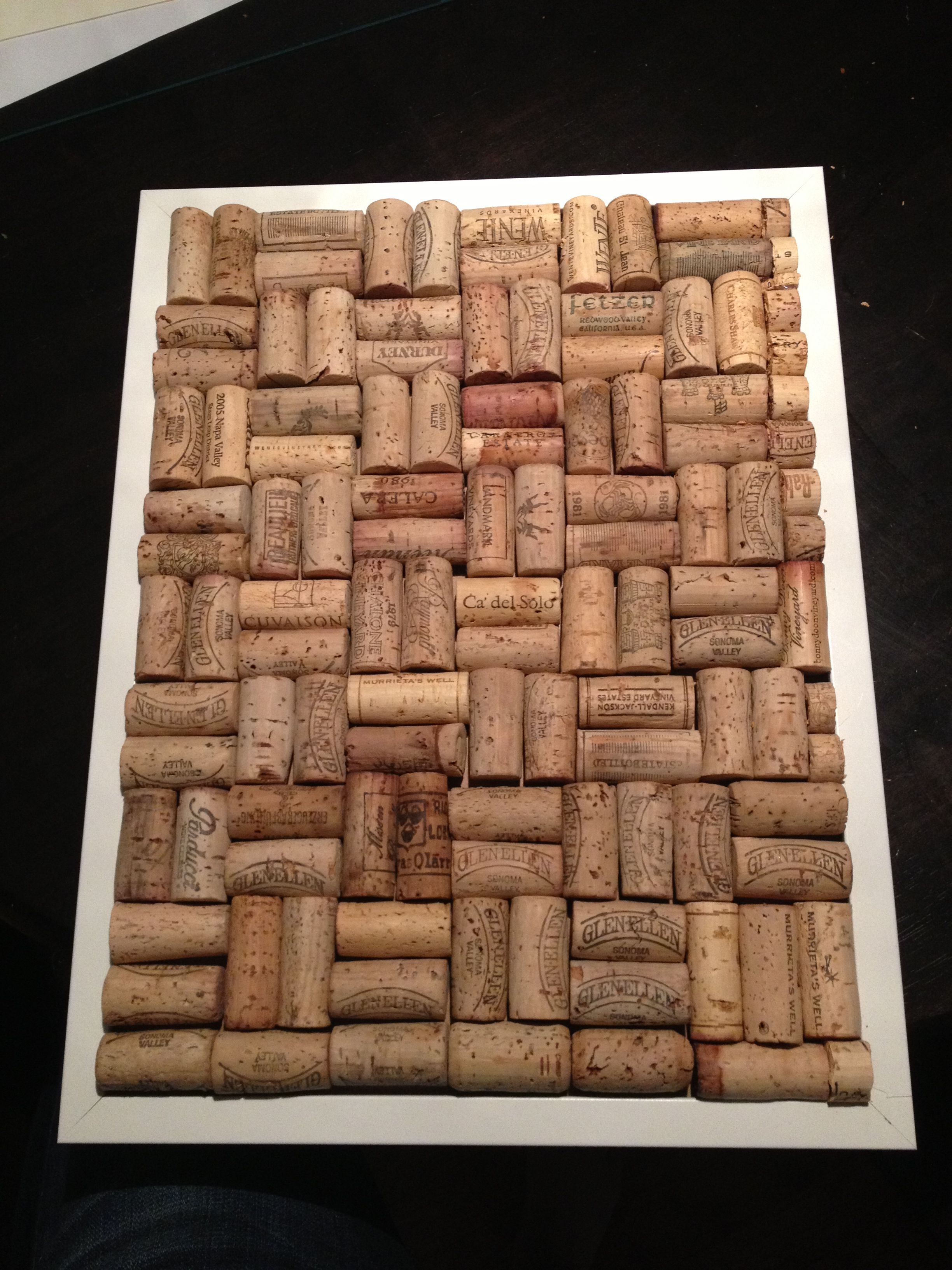 Do it yourself cork board perfect for hanging photos or just to do it yourself cork board perfect for hanging photos or just to hang on the solutioingenieria Gallery