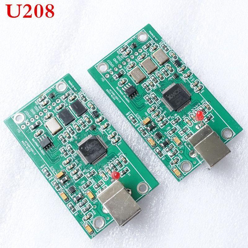 XU208 XMOS USB card interface U8 upgrade / DAC | Products