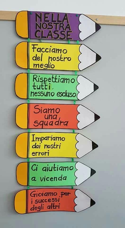 Scuola scuola pinterest school montessori and for Idee per decorare un aula di scuola
