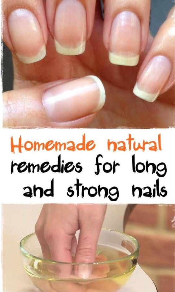 Strong nails - Natural remedies for long and strong nails | Beauty ...