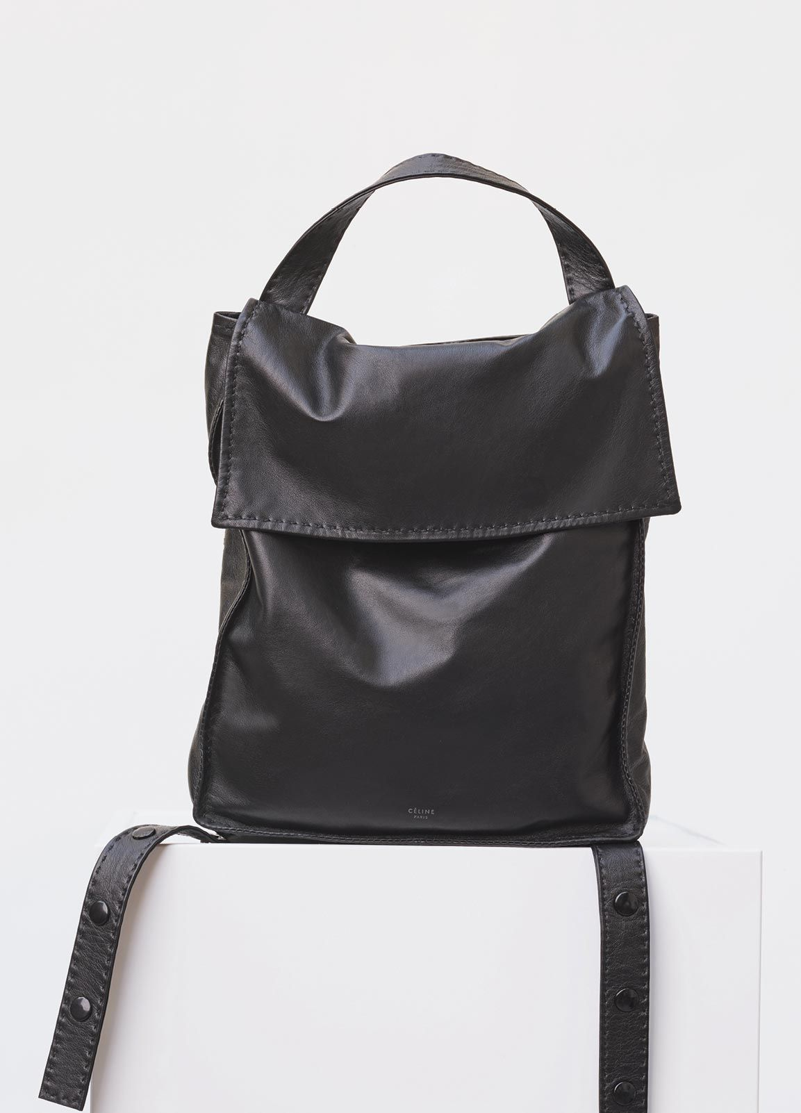... Large Croissant Handbag Backpack in Soft Lambskin - Fall Winter Runway  2016 CÉLINE huge selection of ... 0e6208091d310
