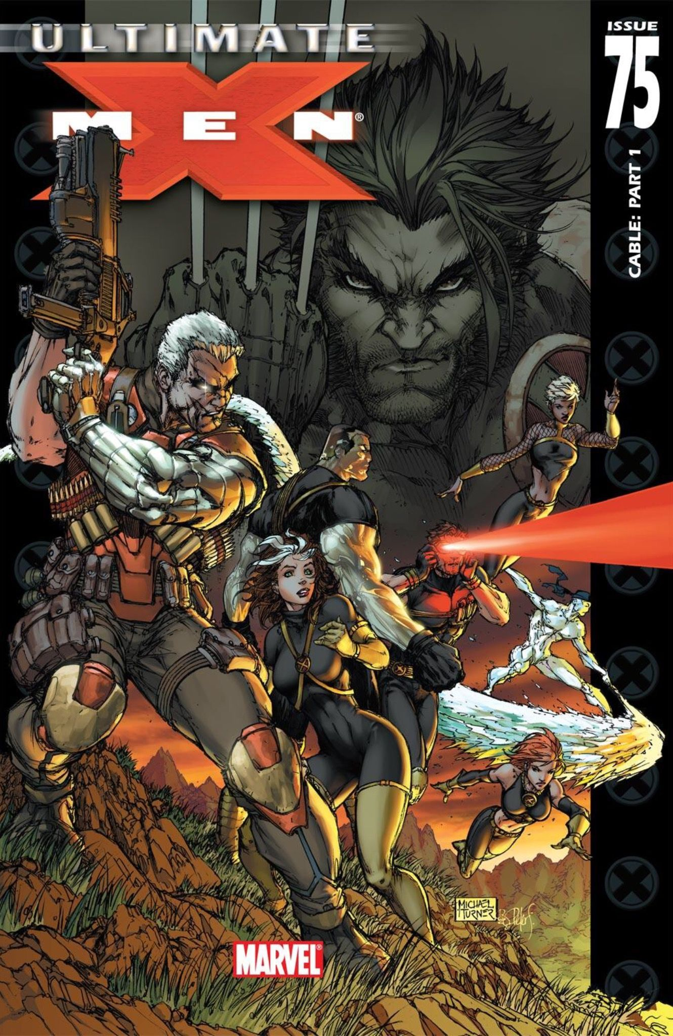 Ultimate X Men 75 Cover By Michael Turner X Men Michael Turner Comics