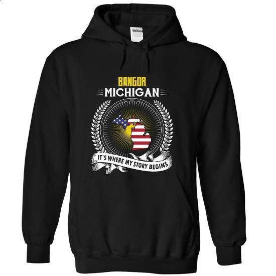 Born in BANGOR-MICHIGAN V01 - #tshirt design #hoodie refashion. MORE INFO => https://www.sunfrog.com/States/Born-in-BANGOR-2DMICHIGAN-V01-Black-Hoodie.html?68278