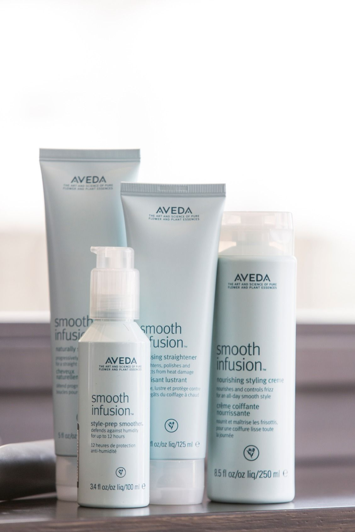 Smooth Infusion Style Prep Smoother Smooth Frizzy Hair Aveda Anti Frizz Products Mermaid Hair Color Frizz Free Hair