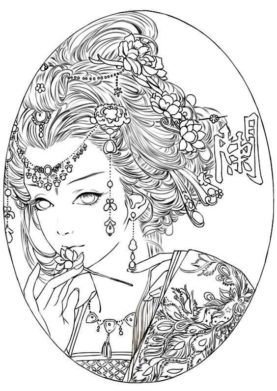 Pin By Mini On Colorsheets Coloring Pages Adult