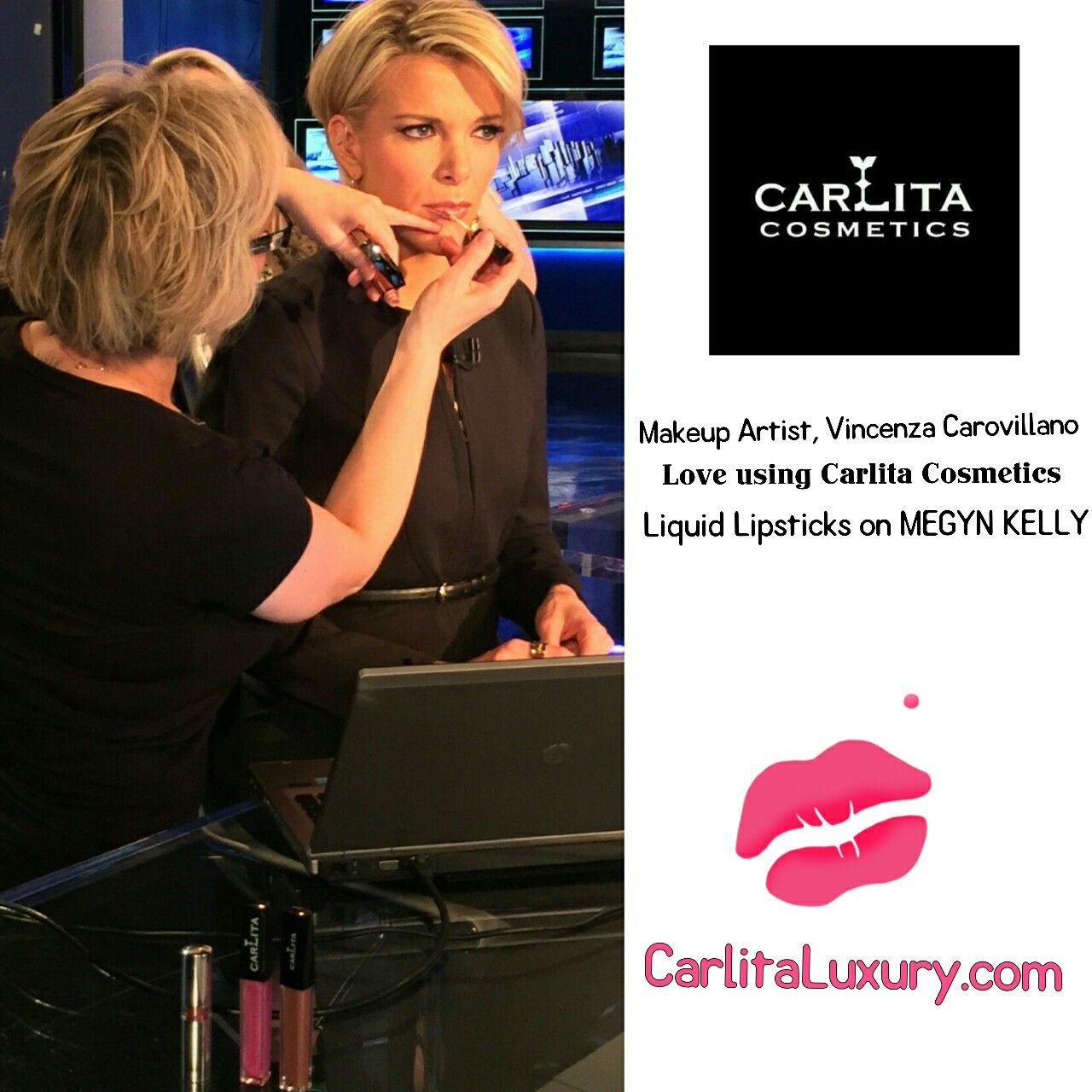 Megyn Kelly Is Wearing Lip Shade VINCENZA