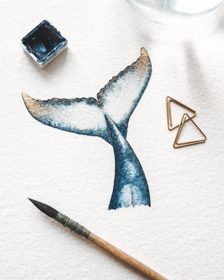 Amazing Watercolor Whale Paintings By Canan Esen   - Art -