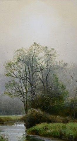 """Renato Muccillo ~ Awakening"""" (Détail) ~ Oil on Panel"""