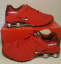 Nike Shox NZ Men s Running Shoes University Red 378341-601 Size 10.5 ... 68700cc43