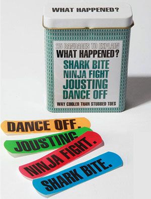 Bandaids that tell the story