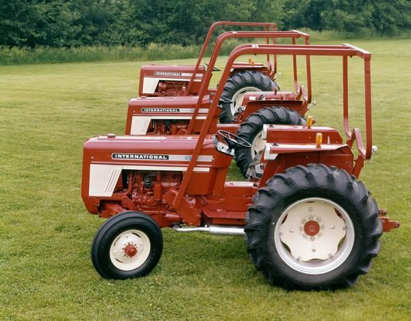 Ih 574 Tractor : International and tractors