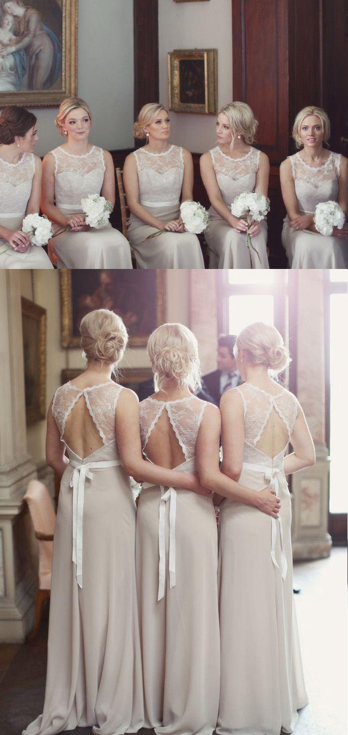 A line bridesmaid dresses champagne alineprincess bridesmaid