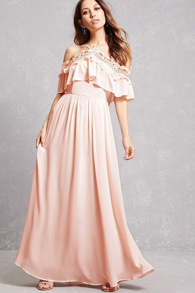7349251b40a3 Soieblu Crochet Flounce Dress   What to wear: Ladies   Pinterest ...