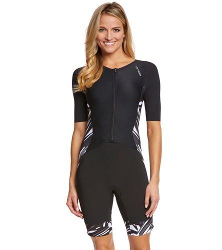 Orca Women S 226 Short Sleeve Race Tri Suit At Swimoutlet Com Free Shipping Tri Suit Fashion Women