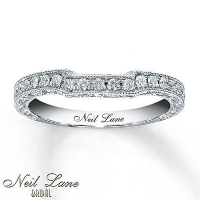 13214a9811a3 Neil Lane Bridal 1 3 ct tw Diamond Band 14K White Gold   Wedding ...