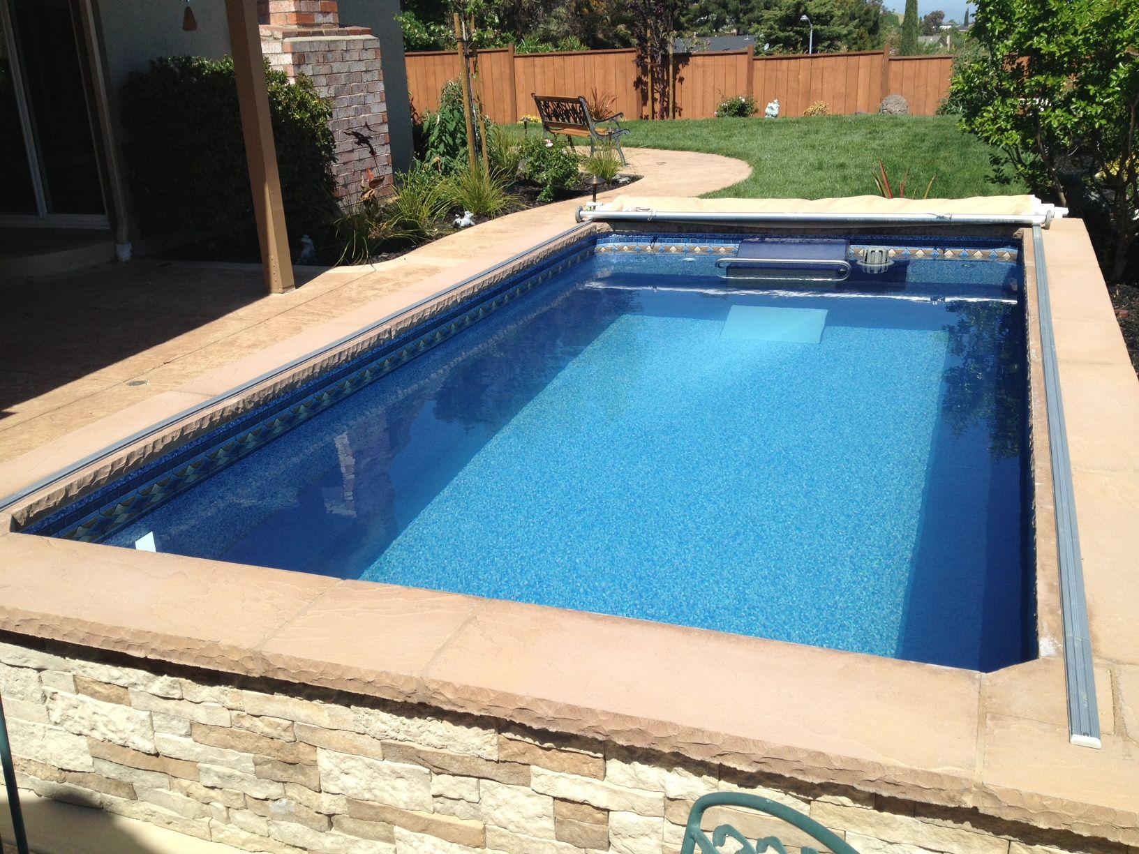 The Inviting Crystal Clear Water Of An Endless Pool In Your Backyard Endless Pool Pool Swim Spa