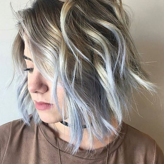 Baby Blue Balayage By Hairbypaola Ash Blonde Hair Colour