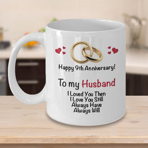 9th Anniversary Gift Ideas For Husband