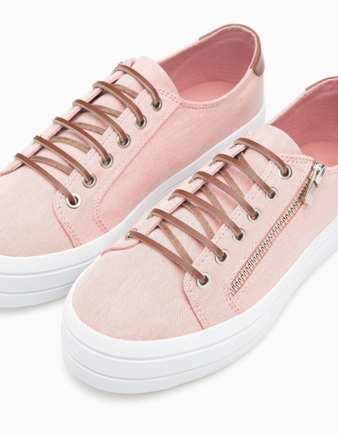Zapatos con cremallera para mujer YNU1AdmR