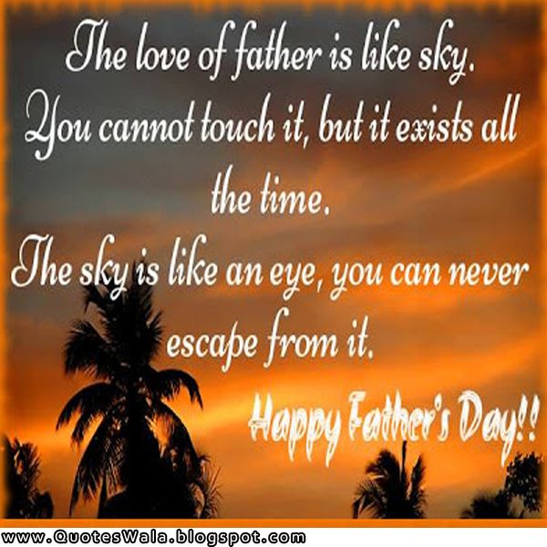Quotes About The Love Of A Father: Happy Father Day Quotes Happy