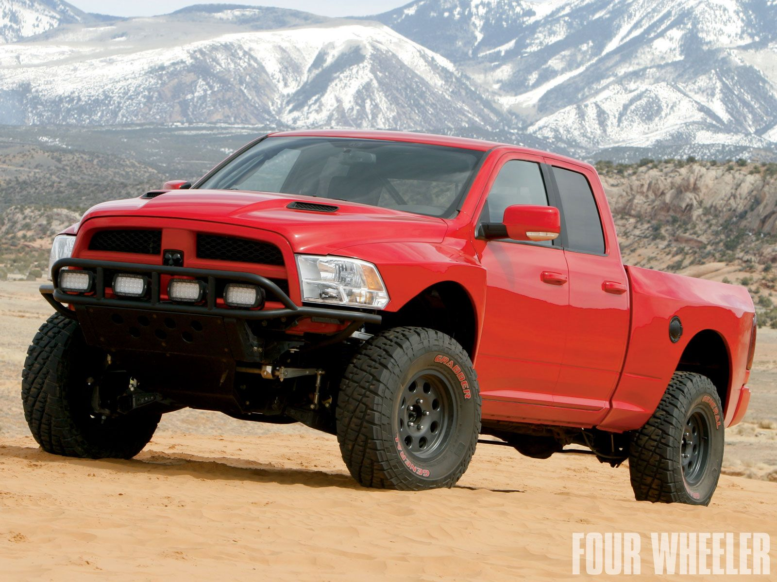 Ram Ram Runner Ram S Aftermarket Based Answer To Ford S Raptor It Has Beat The Raptor In Some Off Road Contests But Is Not Ram Runner Mopar Lowered Trucks