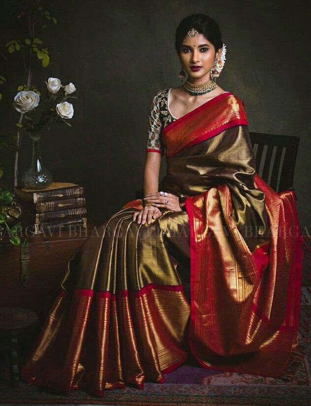 Hearty Black Silk Cotton Saree Grand Pallu Zari Organza Silk Saree W/b New Golden Saree Durable Service Other Women's Clothing Clothes, Shoes & Accessories