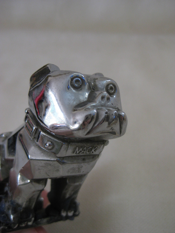 Vintage MACK Truck Dog Hood Ornament by VintageByThePound