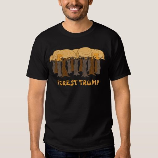 Funny Pun Forest Trump Donald Trump Hair Tee Shirt #trump #donaldtrump #hair #trumphair #donaldtrumphair #tshirts #funny #puns #forrestgump #trees #2016 #elections #president #campaigns