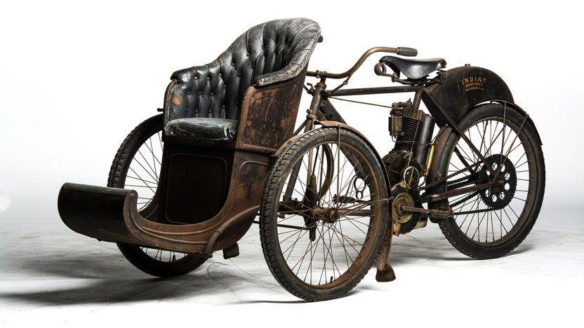 Ne güzelmiş oysa eskiye dair herşey! - #1907 #car #co #hendee #india #mecum.com #mfg #pinterest.com #tekerlekli #three #tri #üç #vintage #wheeled