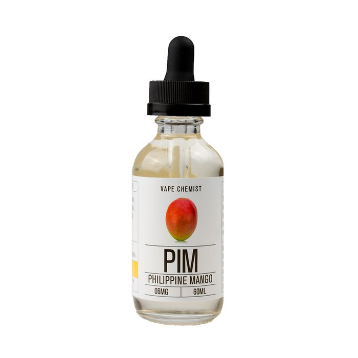 PHILIPPINE MANGO e juice by Vape Chemist is a sweet mango e