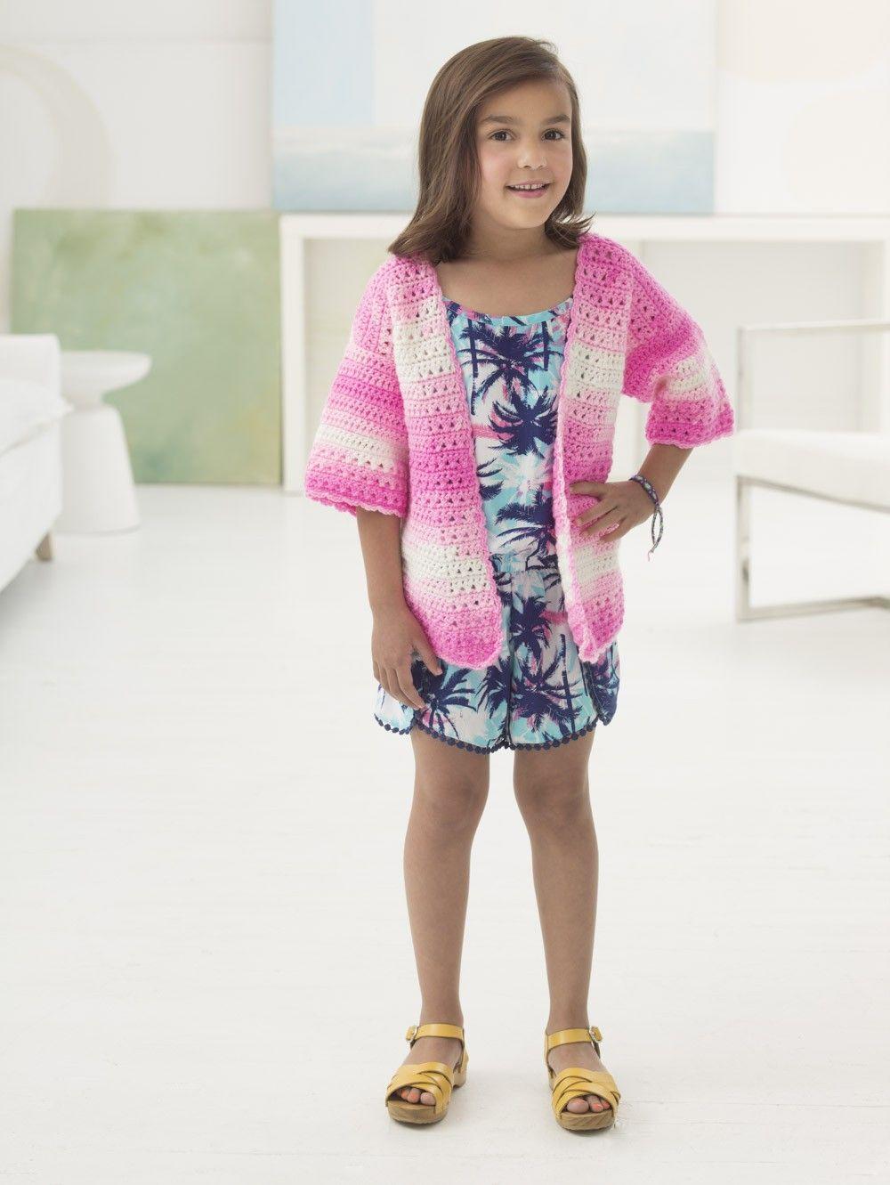 Carolina Cardi (Crochet) - Patterns - Lion Brand Yarn | haken ...