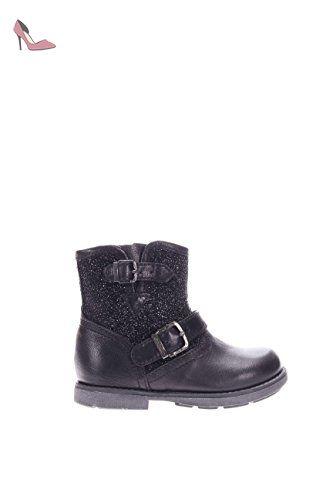 Chaussures à fermeture éclair Nero Giardini noires fille obShY0CoVA