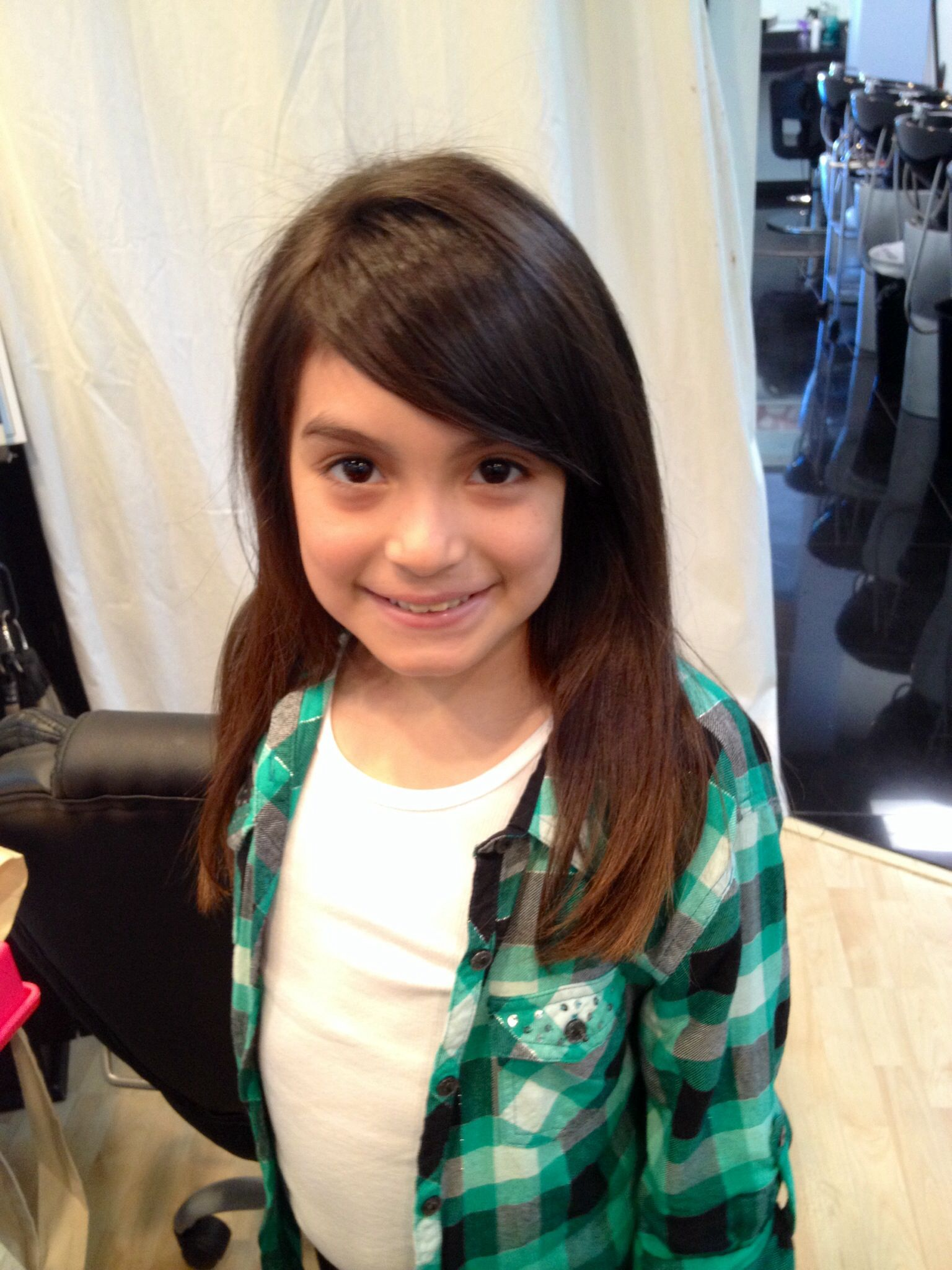 side bangs for girls! | kids in 2019 | side bangs hairstyles