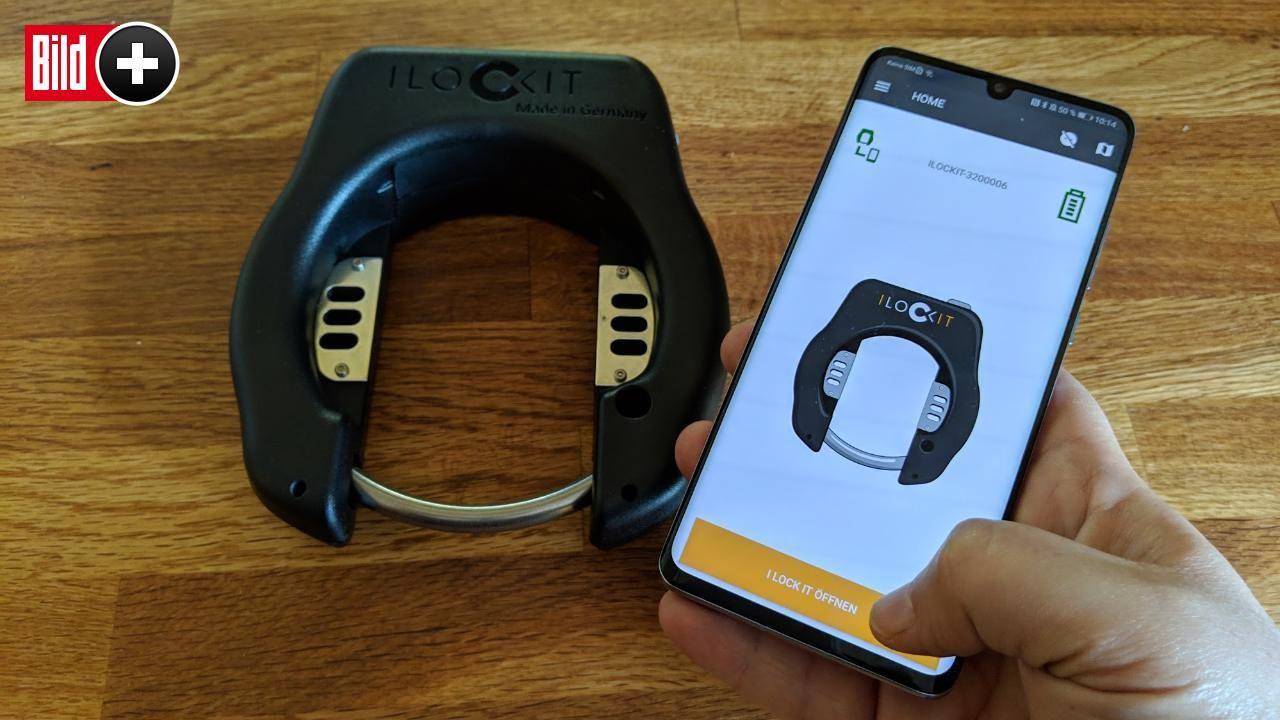 I Lock It Im Test Was Taugt Das Fahrradschloss Mit Handy