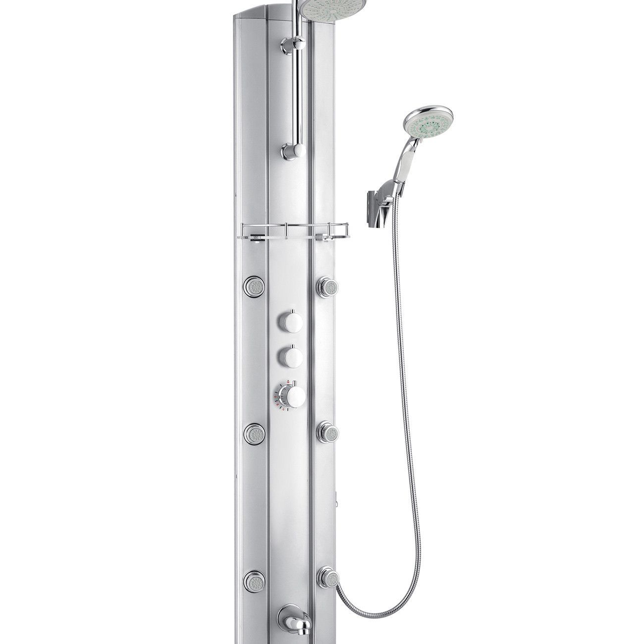 DreamLine SHCM-23580 Hydrotherapy Shower Panel with Shower Accessory ...