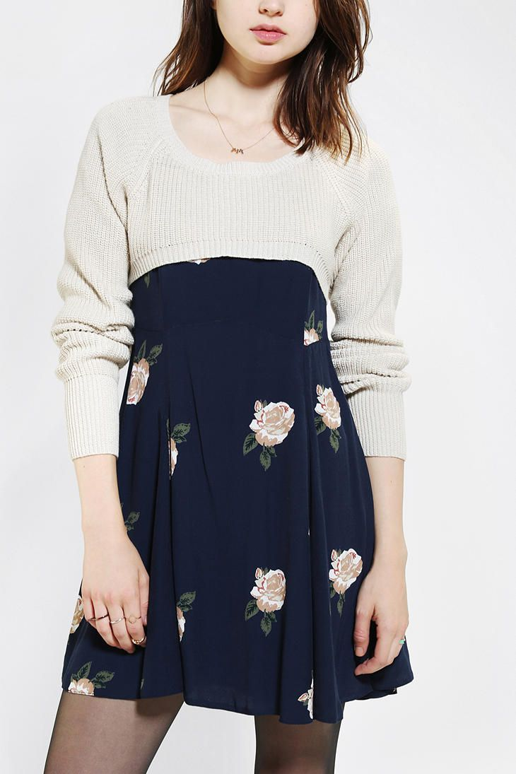 Kimchi Blue Ballet Super-Cropped Sweater (another thing I love ...
