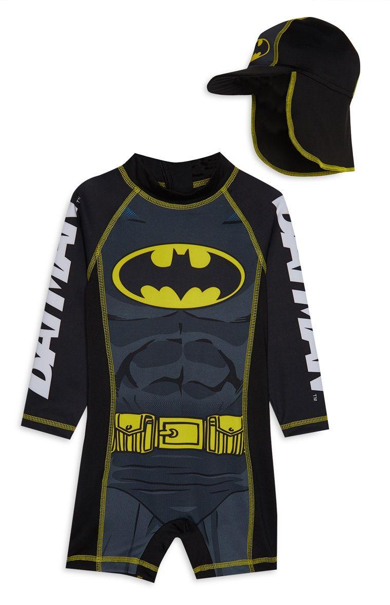 435b949deb784 Batman Sunsafe Swimsuit Batman Stuff