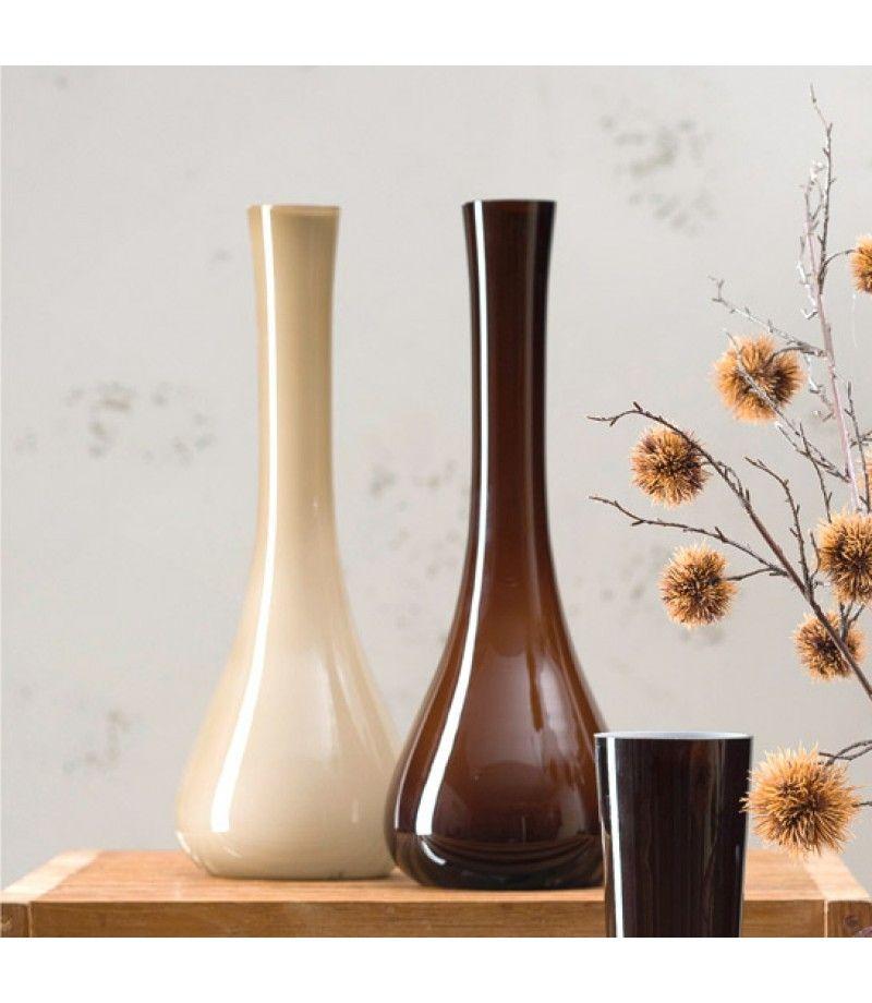 Große Vasen sacchetta große vasen in warmen brauntönen vase deko