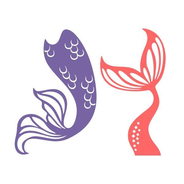 Mermaid Black Frame Monogram