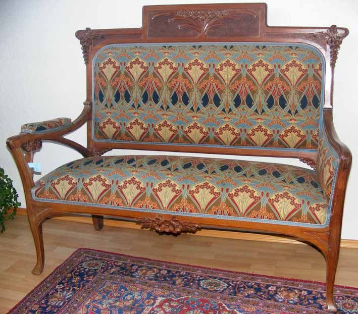 Sofa Jugendstil, Frankreich. | Bild Nr.1